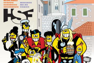 Hercegnovski strip festival, plakat